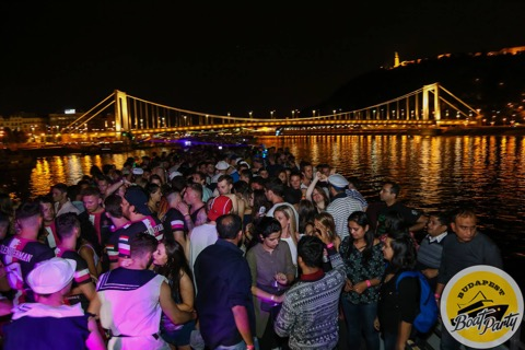 Boat party moments